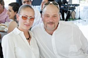 María Galeazzi y José Dossetti