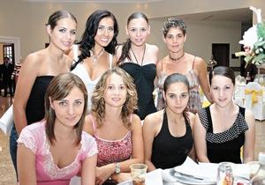 Anabel Alegre, Gaby Herrera, Marcela Lavín, Sandra Peláez, Marcela Albéniz, Karla Dabdoub, Gachi Madrazo y Ana Cris Jiménez