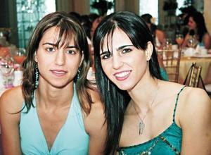 Daniela Murra Marroquín y Zaida Faccuseh Zarzar