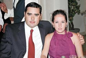 Sergio Estrella Rivera y Carolina Bravo