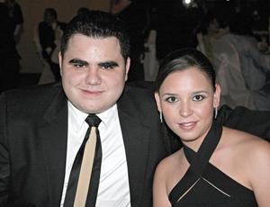 Carlos Herrera y Marcela Lavín