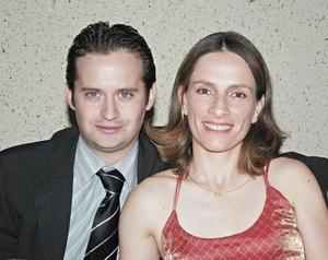 Sergio Reyes y Olga García