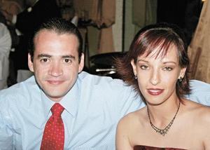 Jesús Pérez y Cristina García