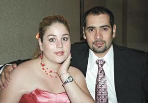 Karla Rubio y Ernesto Ramos