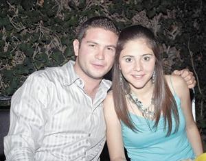 Alejandro Olhagaray Saracho y Bety Fernández Lorda