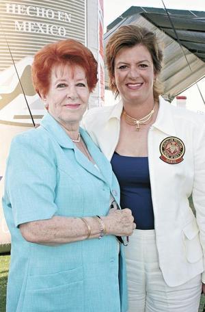 Victoria M. de Peña y Victoria P. de Murra