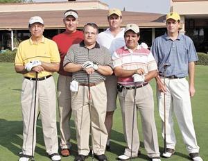 Javier López, Oscar Russek, José Sánchez Izquierdo, Rodrigo González, Rubén González y Federico Giner