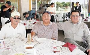 Roberto Barranco, Alejandro Safa y Julio Villalobos