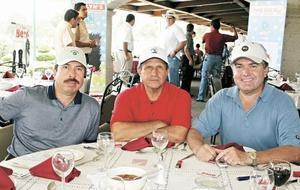 José G. Gutiérrez, Hector Flores y Othon Zermeño