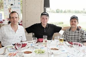 José de la Parra, Jorge Landeros y Rodolfo Castro