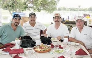 Víctor Alducin, Jorge Cepeda, Miguel Wong y Armando Navarro