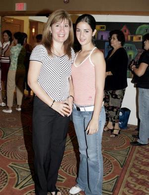 <b>11 junio </b><p> Mayela Saracho y Mayela de la Garza