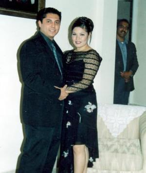 David Israel Saláis y Nadia Flores Aguiñaga.