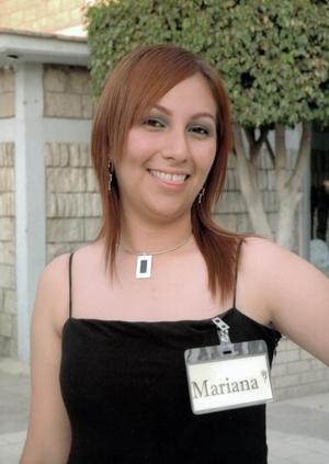 Mariana Viesca Arriaga, Princesa de los festejos del Día del Estudiante.