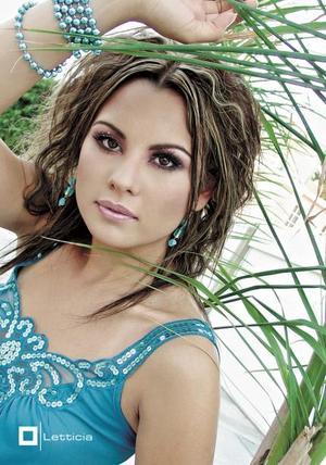 Aída Margarita Hernández Castañeda, en una foto de estudio