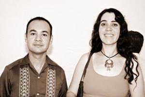 Diana Ortiz y José Barajas