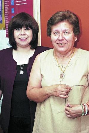 Luz María Molina y Ana Guzmán