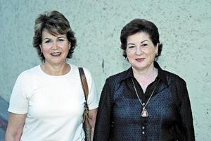 Malena Borbolla y Lolita Martínez