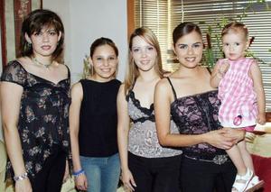 Brenda Cecilia Anaya Arratia disfrutó de uns despedida de soltera, que le organizaron Norma Durante de Lavín, Regina Lavín, Rosaura Telléz y Vanessa Herrera, por su cercano matrimonio..