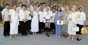 Grupo Sacramento que terminó sus cursos en ANSPAC.