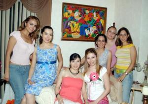 <b>13  junio</b><p> Por su próximo matrimonio con Luis Ricardo Galarza. a Lorena Michel Návar le organizaron una fiesta de despedida