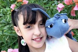 Érika Vanessa Mora Ceniceros cumplió nueve años de vida, y por ello disfrutó de una divertida reunión infantil