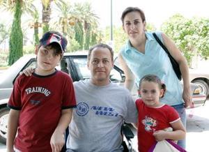 Fernando Mafud, Fernando Mafud Seijas, Mirian Mafud Seijas y Lucy Seijas.