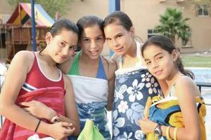 Ingrid Campuzano, Fabiola Arriaga, María Martha Ceniceros y Cecy Vera.