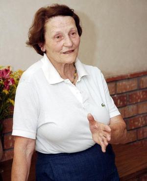 Odile Moreau, presidenta internacional de las Casas Hogar Protección a la Joven.