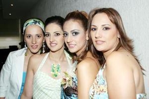Rocío Borbolla Vargas con sus hermanas Susana Borbolla de Pámanes, Mónica Borbolla de Nuñez y Ana Isabel Borbolla de Sifuentes.