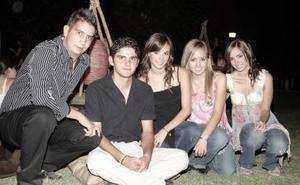 Marcelo Valdés Quintanilla, Ricardo Marcos Melo, Luisa Pérez Veyán, Luisa Viesca González y Ana Pérez Veyán.