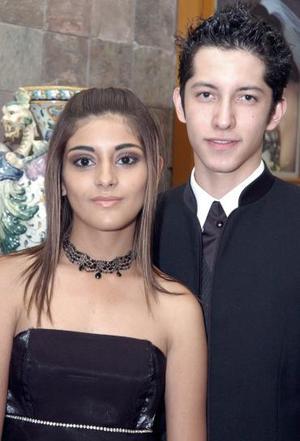<b>15 de junio</b><p>  Silvia Revuelta y Alonso Nemer.