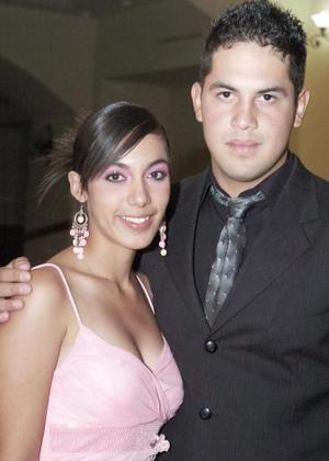 <b>16 de junio</b><p>   Marisa García y Horacio Estrada.