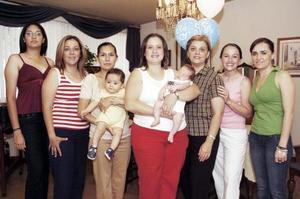 <b>15  junio</b><p> Silvia Delgado, Iliana Sandoval, Sonia y Diego Díaz, Yanhira Salum y Faruk, Marie Yarza, Lupita González y Marcela Vega.