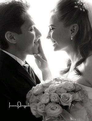 Lic. Areli Andrade Hernández, el día de su enlace matrimonial con el Lic. Javier Alejandro Gutiérrez Ávila.