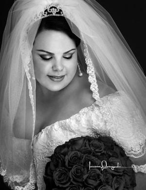 Srita. Humaya Betancourt Sánchez, el día de su matrimonio con el Sr. Basilio Cortez Amezcua