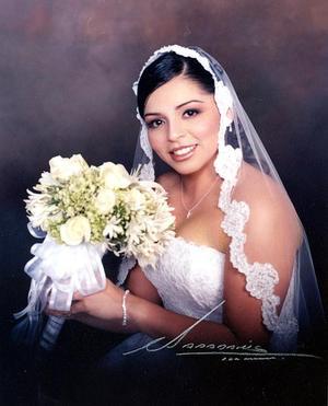 Srita. Martha D. Yañez Mortera, el día de su enlace matrimonial con el Sr. LeRoy H. Briggs Murillo.