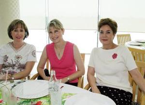 Margarita de Rivera, Lucy de Berlanga y Morena de Martínez.