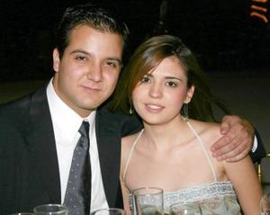 Carlos G. Villalobos y Pamela Wolff.