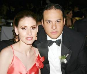 Katia y Eduardo Ibargüengoytia.