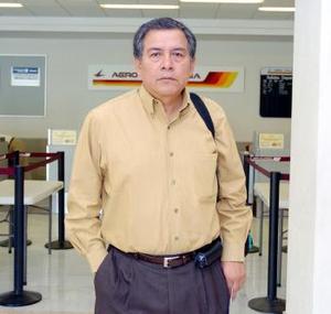 <b>17 de junio</b><p> Artemio Juárez viajó con destino a la Ciudad de México.