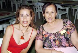 Blanca Carrasco y Connie Zorrilla