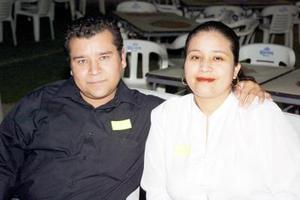 José Lagunas y Martha Rocha