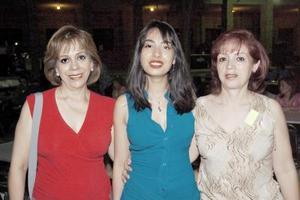Lorena Bassó, Alicia Bassó y Bertha Alicia Bassó