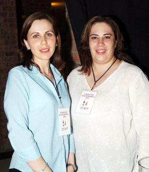 Margarita González y Susana Garza
