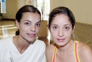 María Sofía Cobo y Andrea Valencia