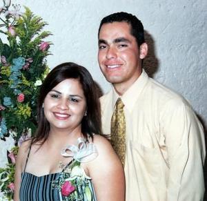 Claudia López Ceballos y Ramiro Torres Navarro