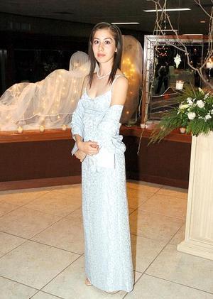Elizabeth Becerril captada en una boda.