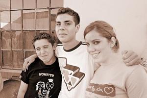 Gabriel Ibarra, Fernando Ochoa y Paloma Ibarra