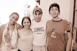 Ileana Moreno, Ana Rosales, Miguel Ángel Rangel y Cristy Juárez.